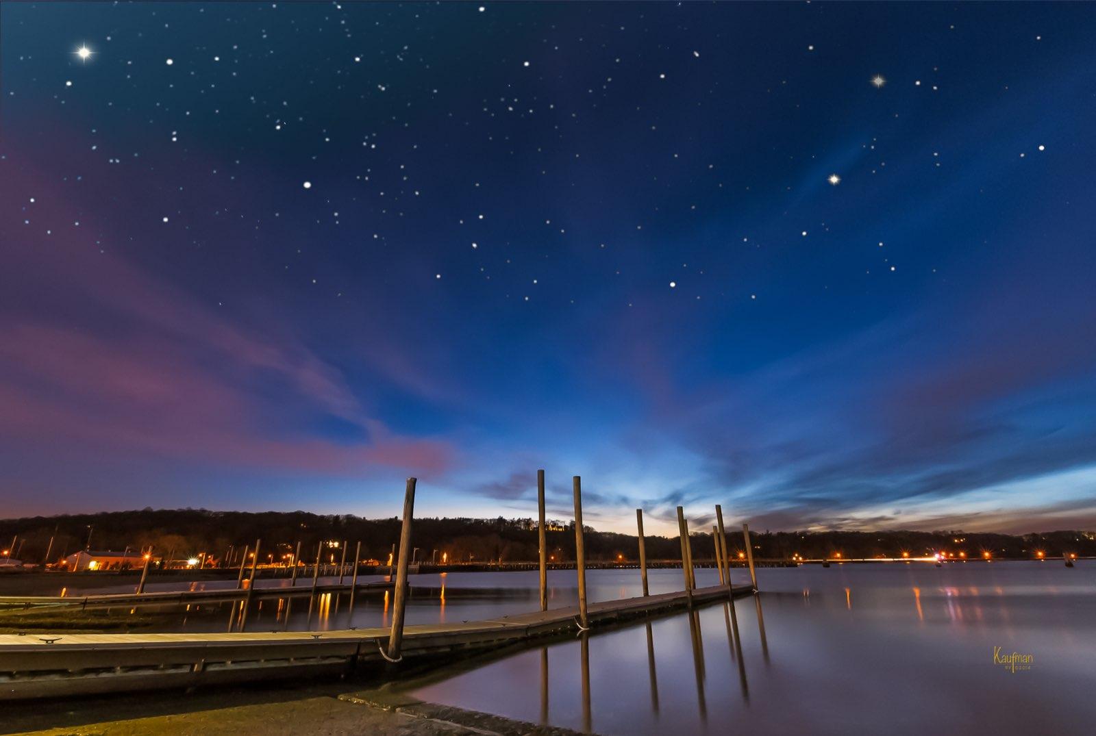 Starry Night, Oyster Bay